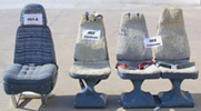 402, 414, 421, 421A, 421B, Twin Cessna Seats