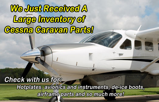 Cessna Caravan Hotplates and other Parts