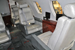 Citation 650 passenger seats right
