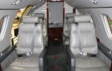 Cessna Citation 650 back interior