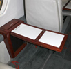 Cessna Citation 650 small interior table