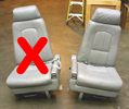 Leather Cessna Citation Seats