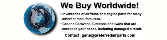 Preferred Airparts, LLC - New Surplus and Used Aircraft Parts