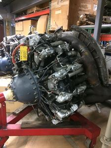 Picture of P&W R1830-90D Engine LH