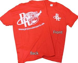 Picture of Preferred Red Retro Tee's