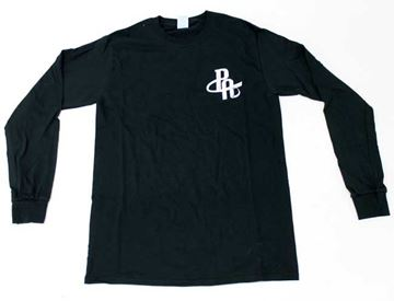 Picture of Preferred Black Retro Long Sleeve Tee's