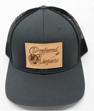 Picture of Preferred Richardson Hat - Charcoal/Black