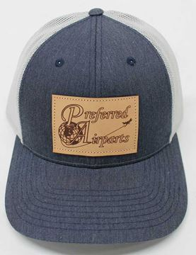 Picture of Preferred Richardson Hat - Heather Navy/Light Grey