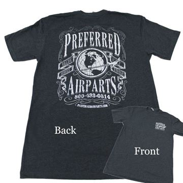 Picture of Preferred Vintage Dark Gray Tee