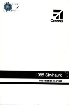 Picture of New Cessna 1985 Skyhawk Information Manual p/n D1272-13