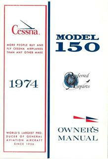 Picture of New 1974 Cessna 150 Aircraft Owner's Manual p/n D1013-13