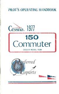 Picture of New 1977 Cessna 150M Commuter Pilot Operating Handbook PN D1080-13