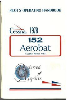 Picture of New 1978 Cessna A152 Aerobat Pilot Operating Handbook PN D1108-2-13