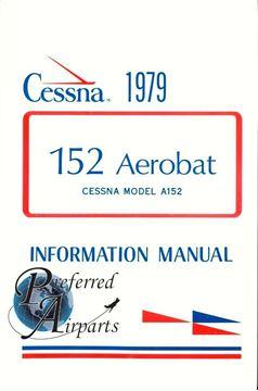 Picture of New 1979 Cessna 152 Aerobat Pilots Information Manual p/n D1137-13.