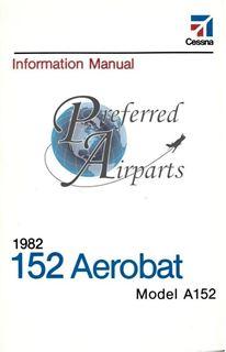 Picture of New 1982 Cessna A152 Aerobat Pilot Information Manual PN D1211-13