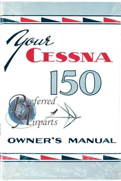 Picture of New Sealed 1959-1960 Cessna 150 Aircraft Owners Manal PN P187-13