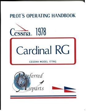 Picture of New 1978 Cessna 177RG Cardinal Pilot Operating Handbook PN D1112-13