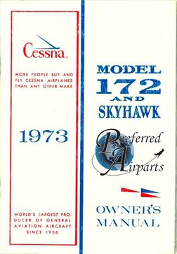 Picture of New 1973 Cessna 172 & Skyhawk Owner's Manual p/n D964-13
