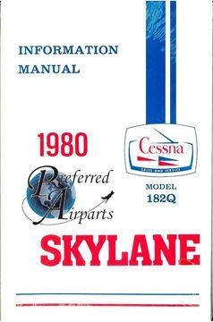 Picture of New 1980 Cessna Skylane 182Q Pilot Information Manual p/n D1176-13