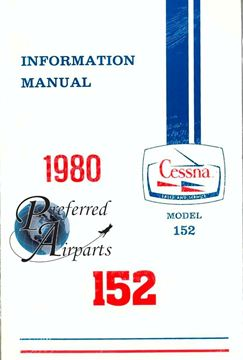 Picture of New 1980 Cessna 152 Information Manual p/n D1170-13
