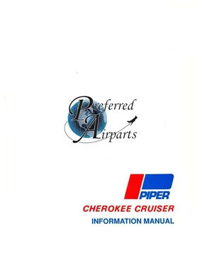 Picture of New Piper Cherokee Cruiser Pilot Information Manual p/n 761-622