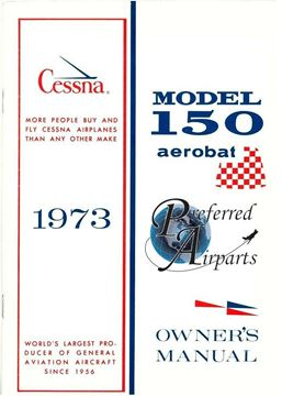 Picture of New Cessna 1973 Model 150 Aerobat Owners Manual p/n D963-13