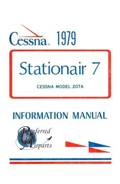 Picture of New 1979 Cessna 207A StationAir 7 Pilot's Information Manual p/n D1149-13.
