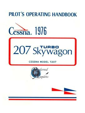 Picture of New 1976 Cessna T207 Turbo Skywagon Pilot Operating Handbook p/n D1068-13