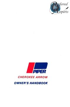 Picture of New 1988-1994 Piper PA28R-201 Cherokee Arrow Owners Handbook p/n 761-827