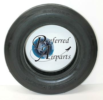Picture of New Aviator Aircraft Tire 22 x 5.75-12 10 Ply 190 mph p/n 028-520-1
