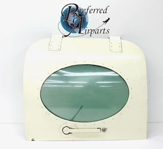 Picture of Used Cessna 414 Upper Cabin Door Assembly p/n 5111504-42