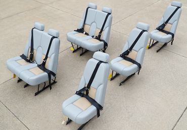 Picture for category Cessna Caravan Seats