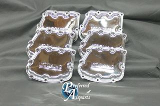 Picture of New Lycoming IO-540 Aircraft Engine Rocker Box Cover Chrome p/n 72242-C