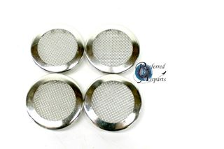 """Picture of Lot of 4 New Cres Cor Plug Button Screen 1-5/8"""" Hole p/n 0847010"""