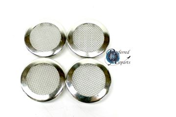 "Picture of Lot of 4 New Cres Cor Plug Button Screen 1-5/8"" Hole p/n 0847010"