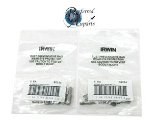 """Picture of 1 lot of 10 New Irwin Industrial Tools #4 Torq-Set Insert Bit 1"""" p/n 92234"""