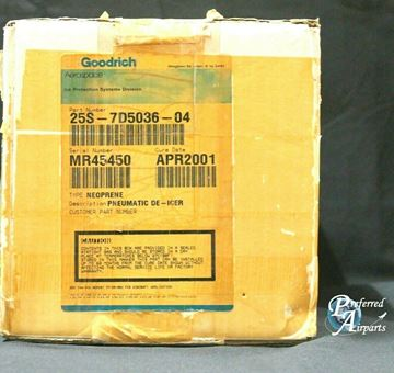 Picture of New Goodrich Horizontal Stab RH De-Ice Boot p/n 25S-7D5036-04