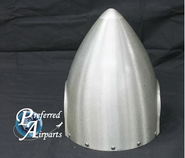 Picture of New Beechcraft 2 Blade Propeller Spinner Assembly p/n D5257 w/ Bulkhead