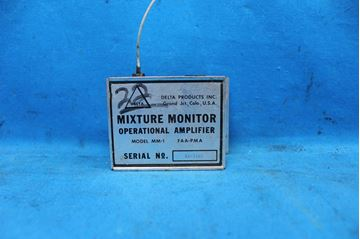 Picture of Used Delta Mixture Monitor Operational Amplifier Model Number MM-1 (24489)